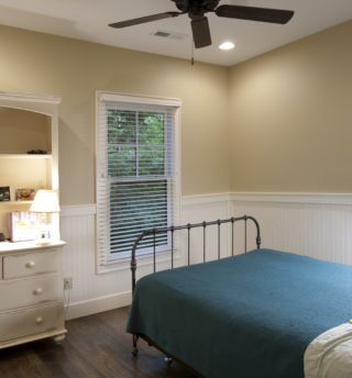Bedroom with Fan
